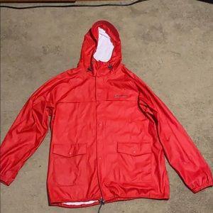 Columbia 100% Waterproof Rain Jacket/Windbreaker